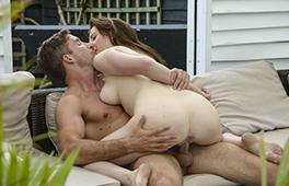 Stunning wife loves erotic pool sex